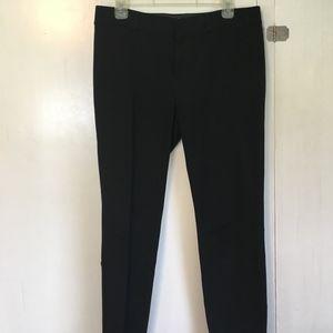 Black Banana Republic Sloan Fit crop ankle pants